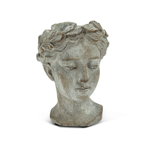 Goddess Head Planter SMALL