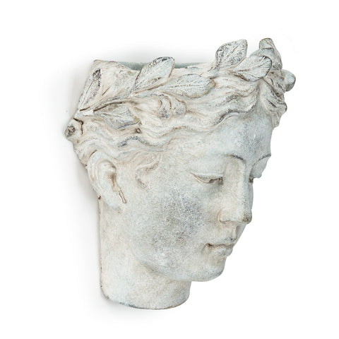 Goddess Head Wall Planter
