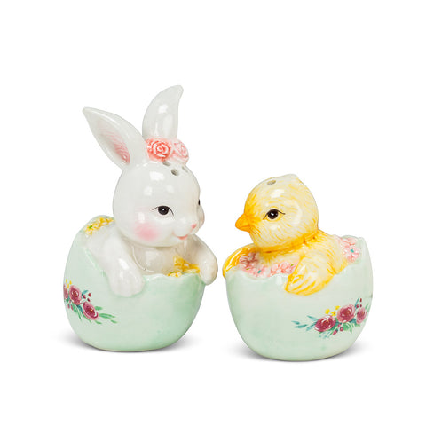 Rabbit & Chick Salt & Pepper