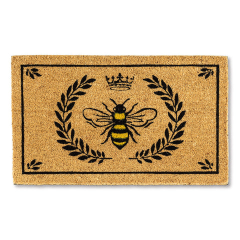 French Bee Door Mat