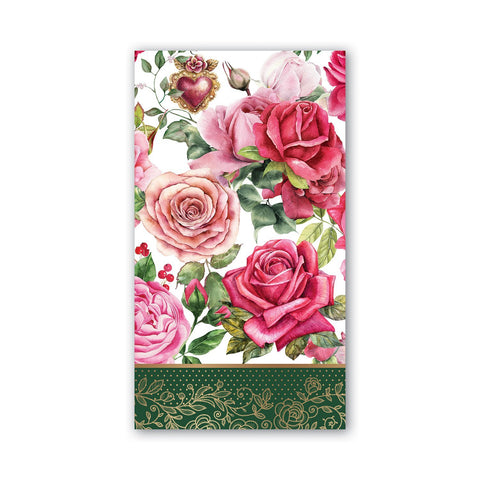Hostess Paper Napkin: Royal Rose