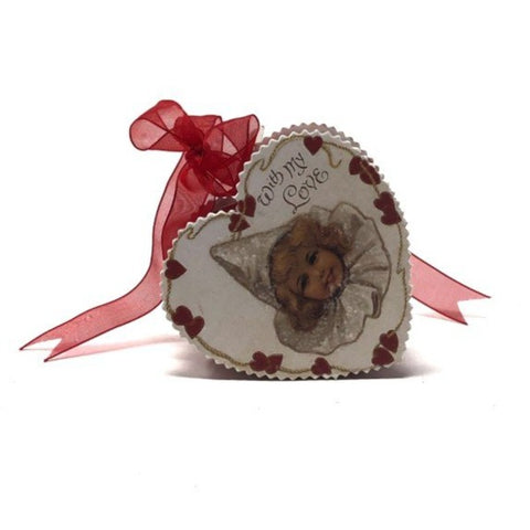 Valentine's Heart Candy Box