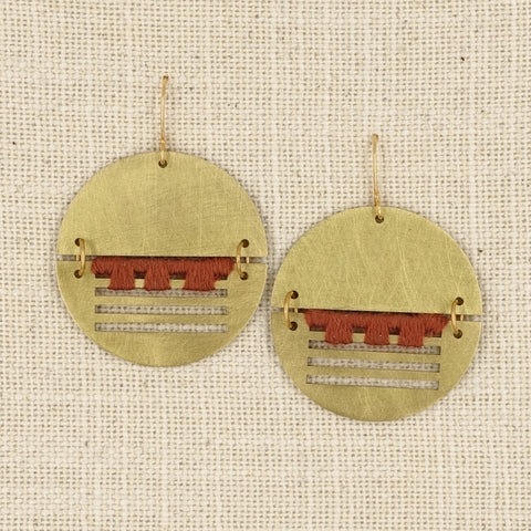 single color Borner earring
