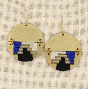 triple color Borner earring