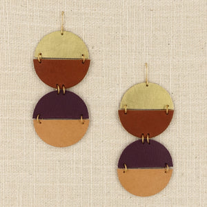 Double Zikopa Earrings