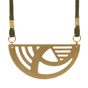 Laiton Cuir Necklace
