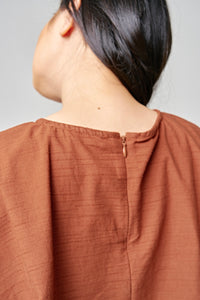 MARGOT Top / Terracotta