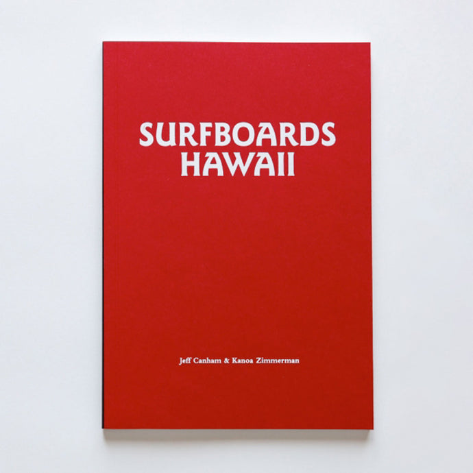 Surfboards Hawaii book
