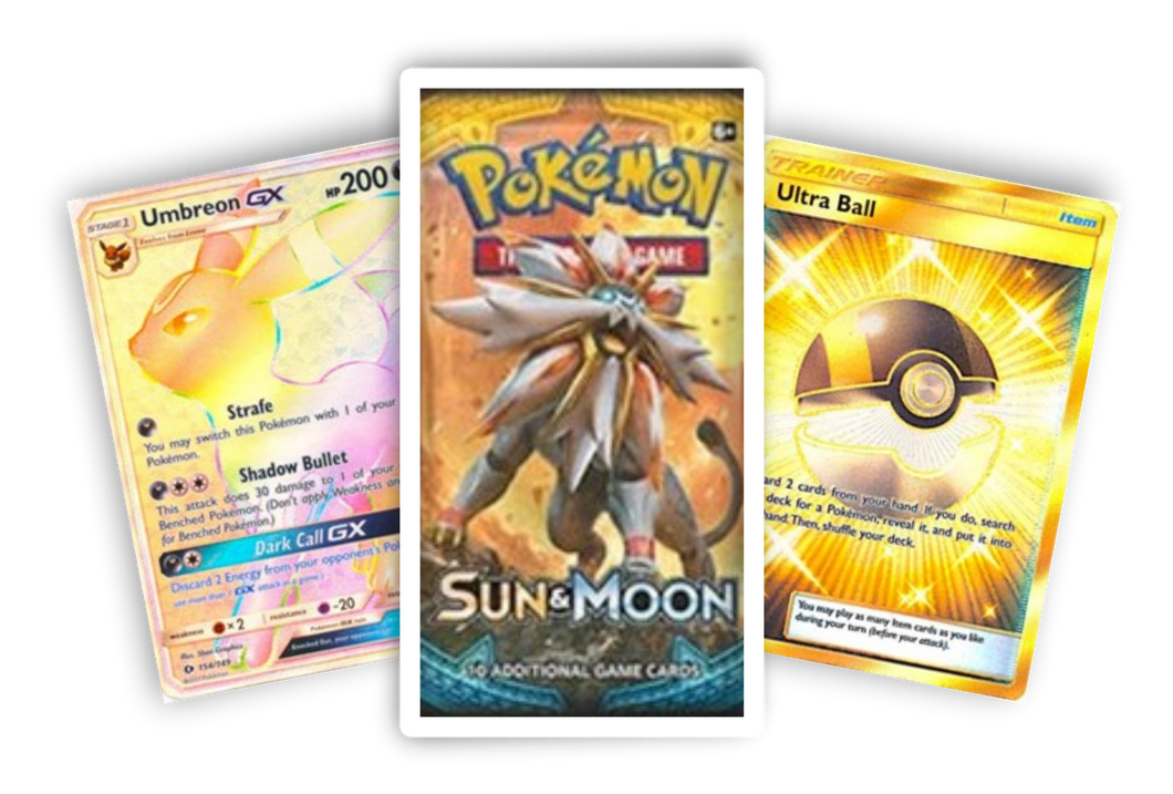 Sun & Moon Base booster pack (Live Break) (Hits Only) - Evolve Esports