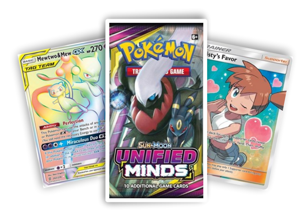 Unified Minds booster pack (Live Break) (Hits Only) - Evolve Esports