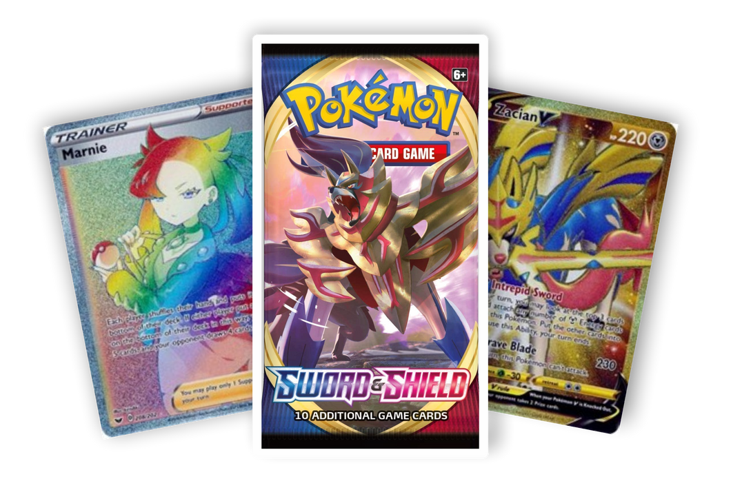 Sword & Shield Base Set booster pack (Live Break) (Hits Only) - Evolve Esports