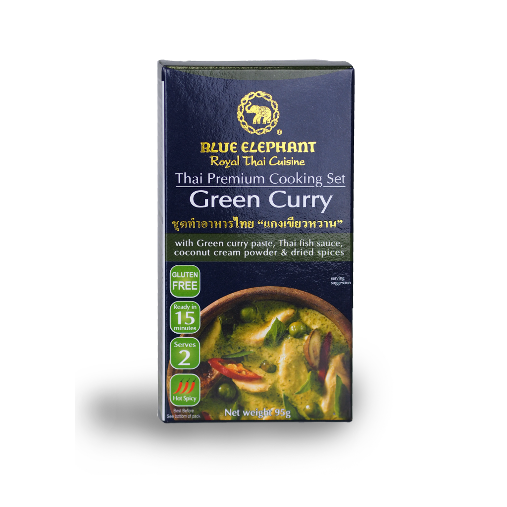 Blue Elephant Green Curry Cooking Set 95 g