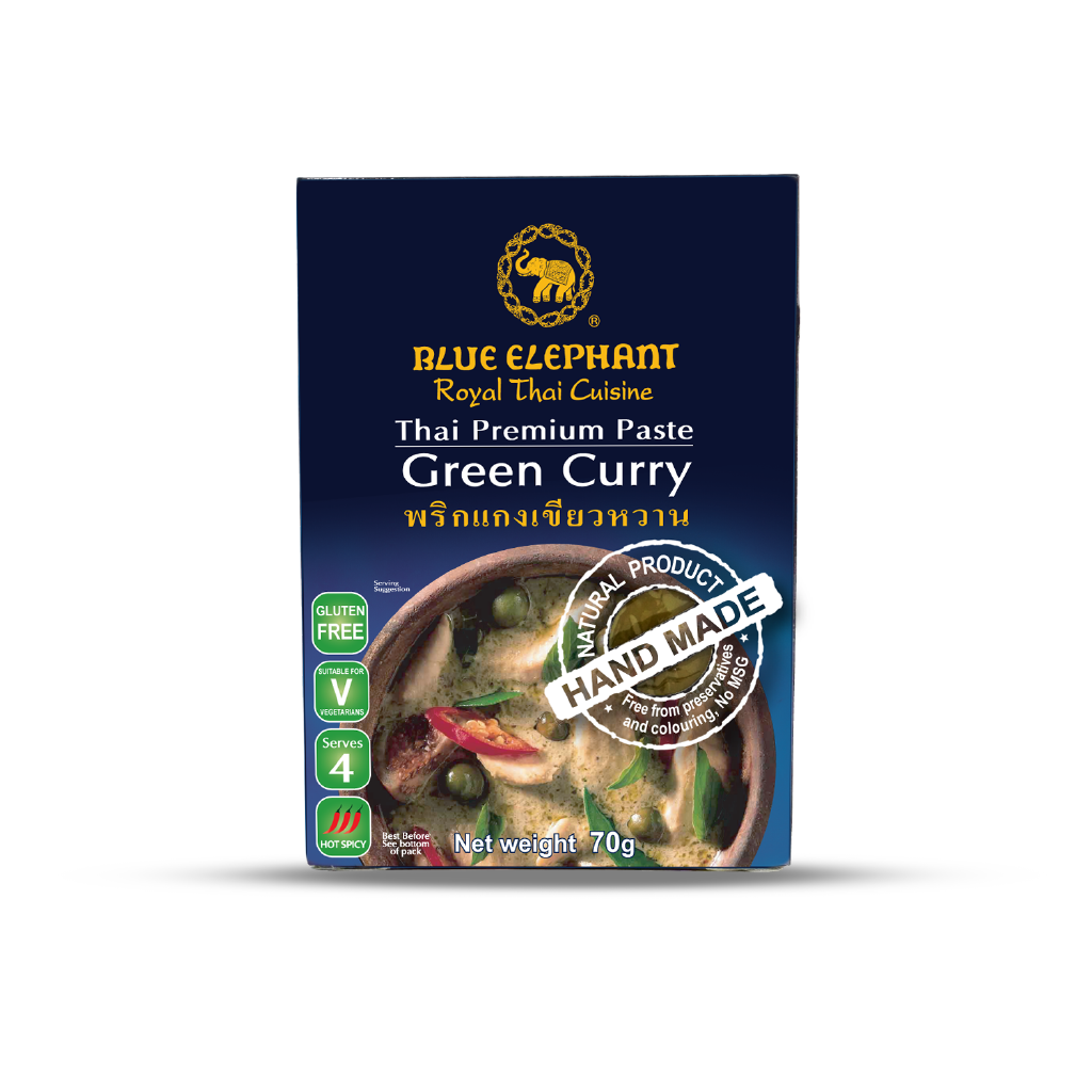 Blue Elephant Green Curry Paste 70 g