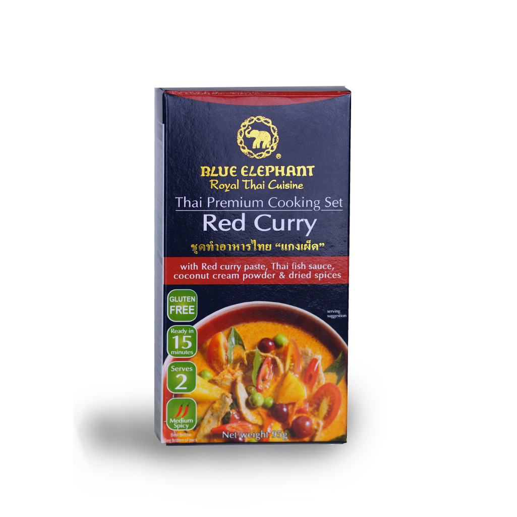Blue Elephant Red Curry Cooking Set 95 g
