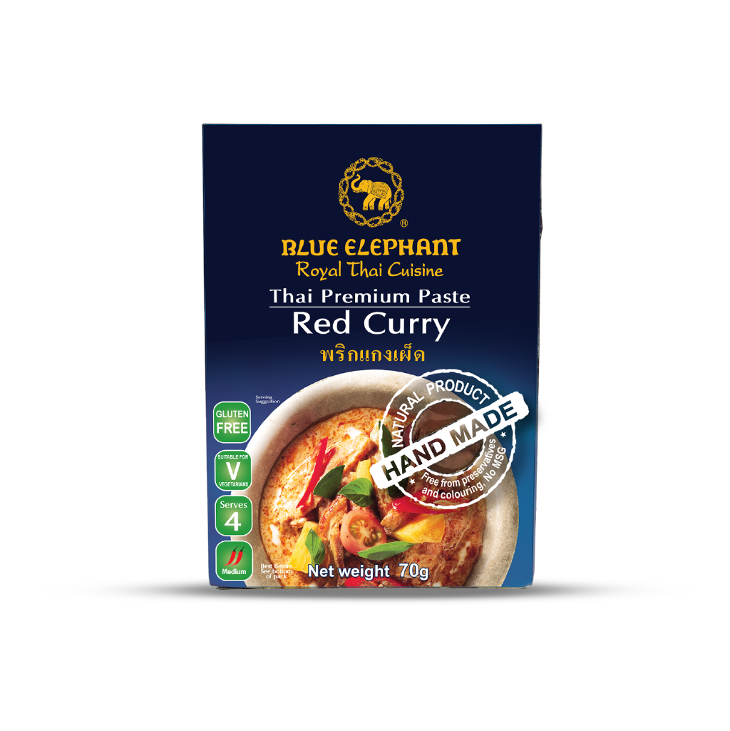 Blue Elephant Red Curry Paste 70 g