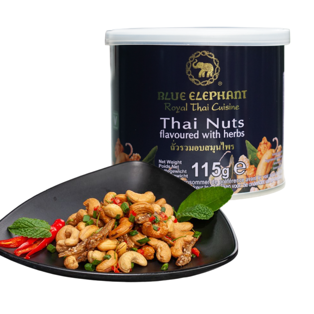 Blue Elephant Thai Nuts with Herbs 115 g