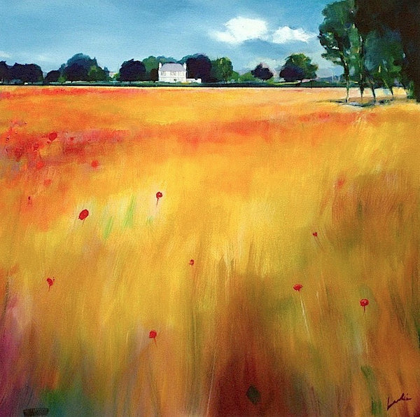 Day 9 - Poppy Field (print on canvas)