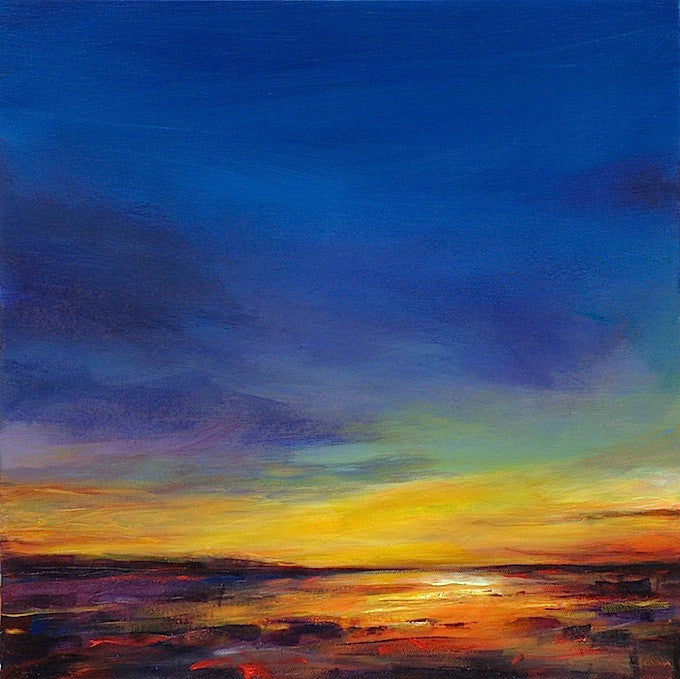 Sunset Reflected (print on canvas)