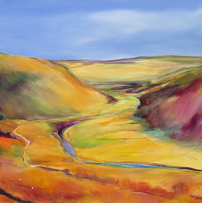 Day 7 - Swaledale View (print on canvas)