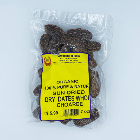 Organic SunDried Dry Dates Whole Choaree