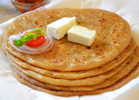 Alu Paratha (home made 4Pcs)