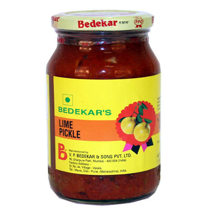 Lime pickle 14 OZS (Bedekar)