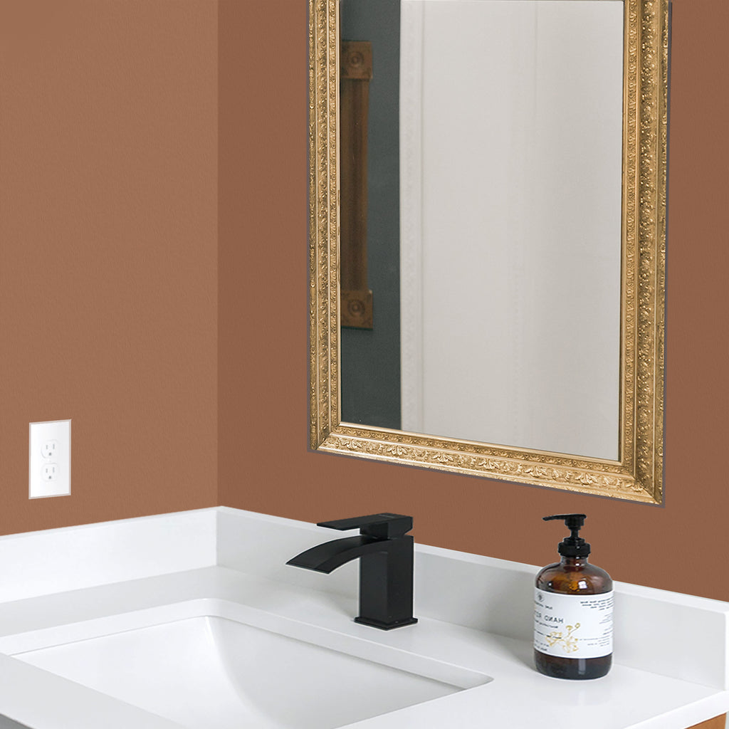 dip color DIP pot dark amber bathroom paint color