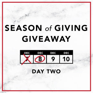 Season of Giving Giveaway - Tuesday
