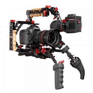 Canon DSLR 5D with Zacuto Gratical HD EVF