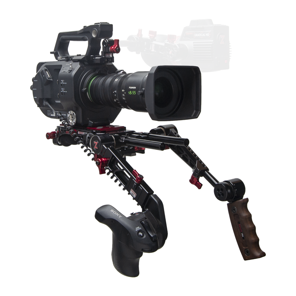 Sony FX9 Recoil with Dual Trigger Grips from Zacuto