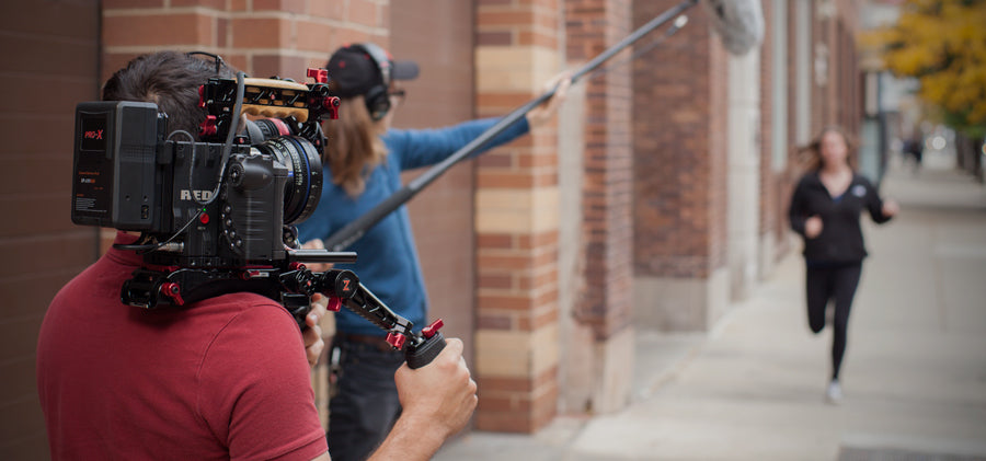 behind the scenes zacuto recoil with red weapon and cine recoil rig
