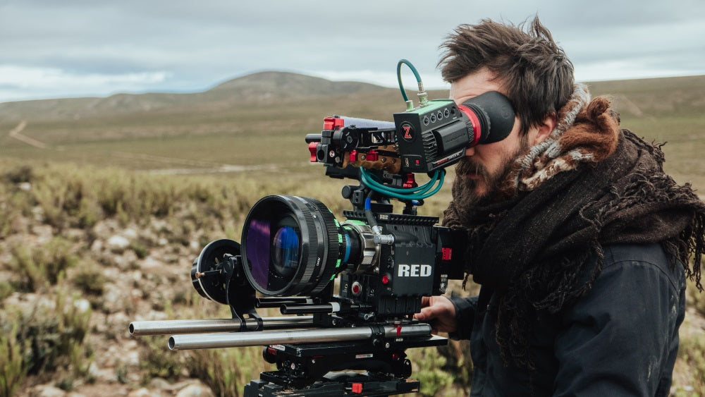 Piedra Sola filmmaking in argentina with zacuto and red camera