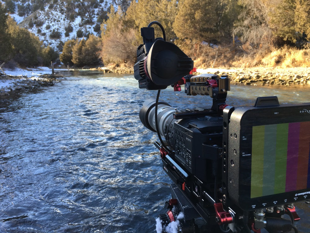 cold weather filmmaking in montana with zacuto