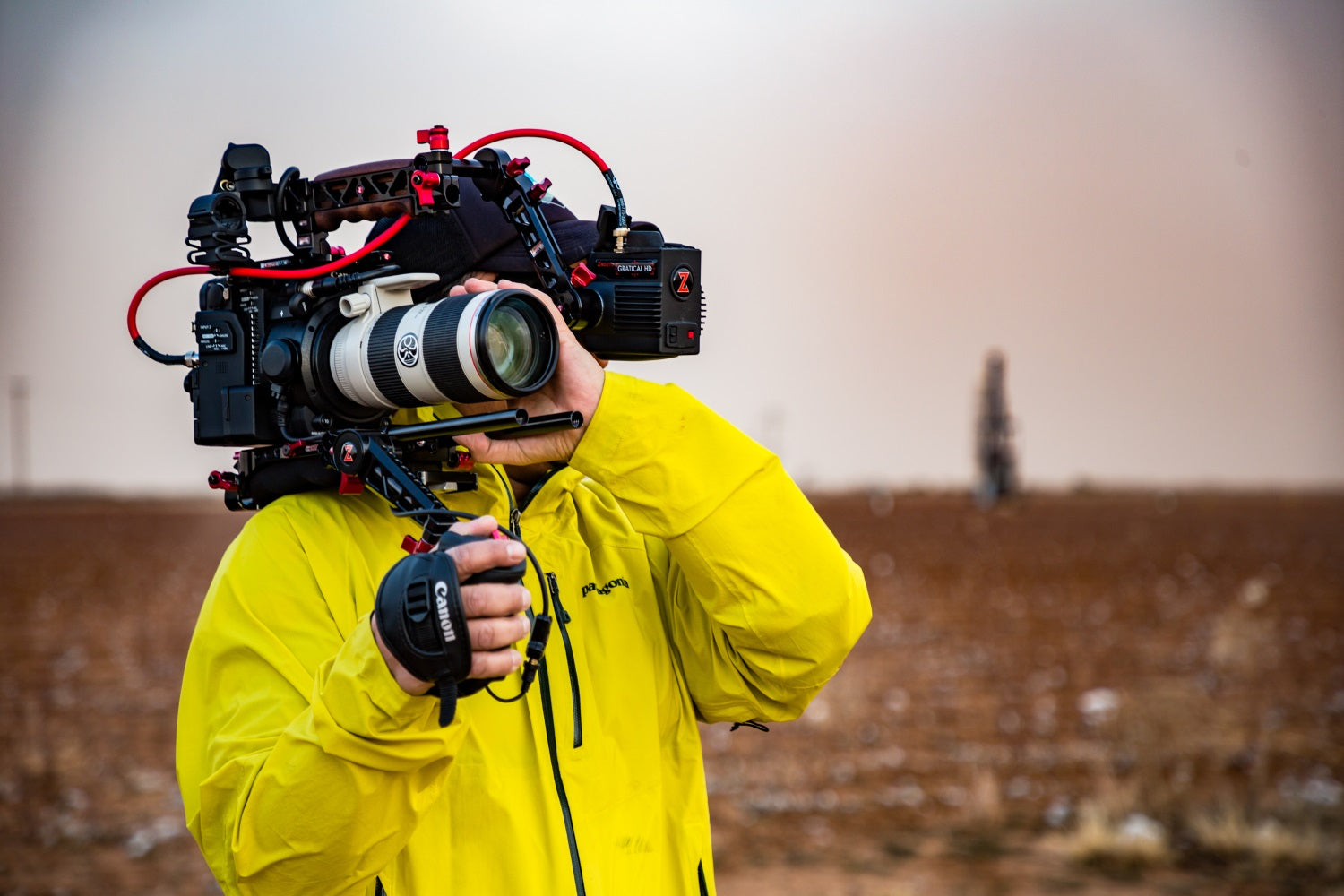 Rod Guajardo with the Canon C200 Shoulder Rig from Zacuto_6