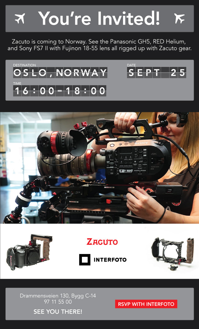 Zacuto Interfoto event September 2017