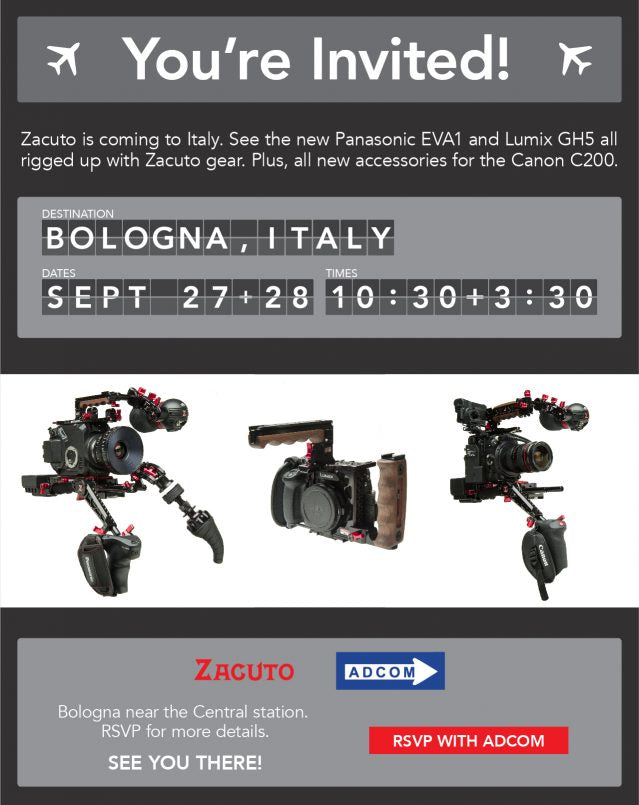 Zacuto Adcom event September 2017