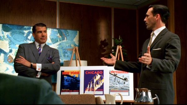 mad men pitch meeting freelance networking
