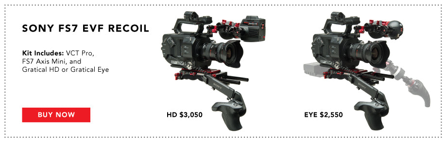 sony fs7 recoil bundle with evf