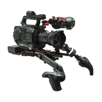 sony fs5 recoil with new vct pro landing page