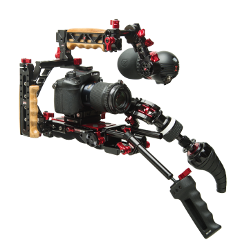 indie recoil universal rig with vct pro baseplate