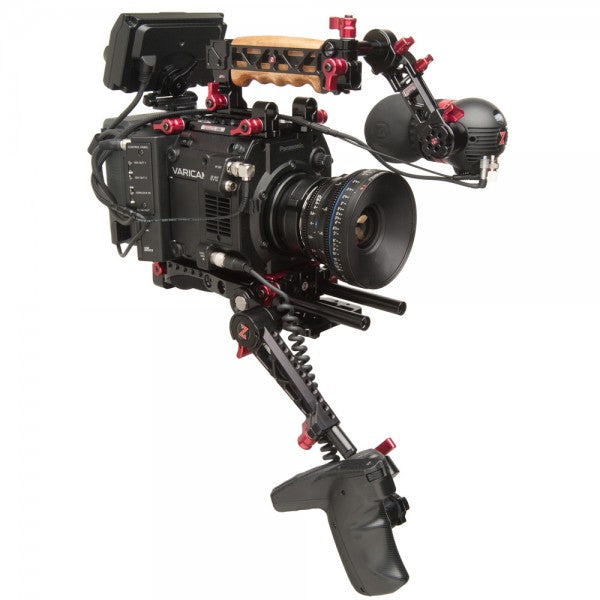 panasonic varicam lt with zacuto recoil gratical eye and zgrip trigger