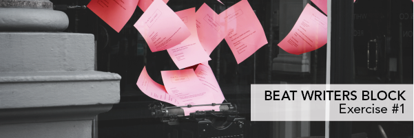 screenwriting exercises beat writers block #1