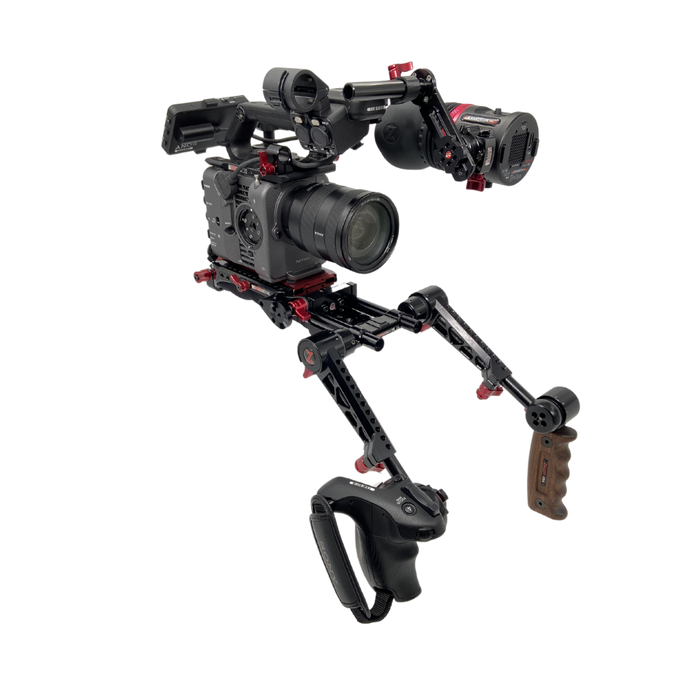 Sony FX6 Recoil Rig with Dual Trigger Grips