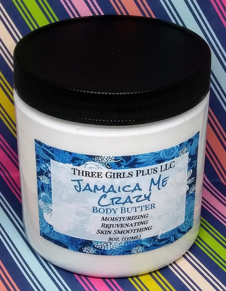Jamaica Me Crazy Body Butter - Three Girls Plus & Leggo My Candle