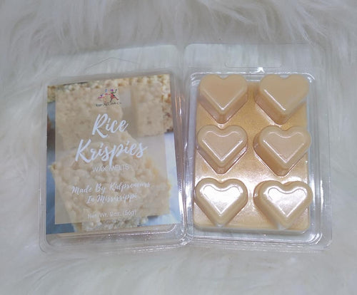 Rice Krispies Type Wax Melts - Three Girls Plus & Leggo My Candle