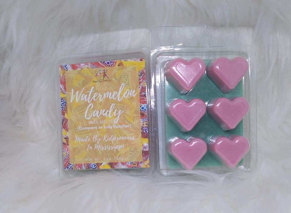 Watermelon Candy Wax Melts - Three Girls Plus & Leggo My Candle