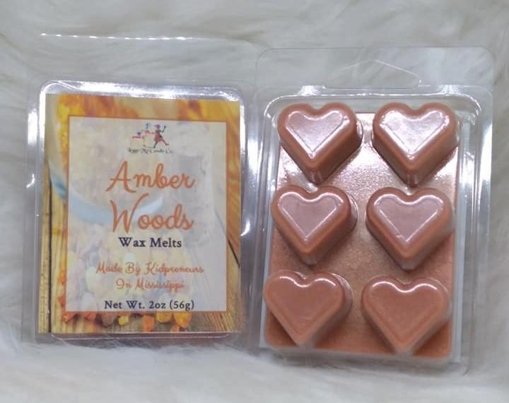 Amber Woods Wax Melts - Three Girls Plus & Leggo My Candle