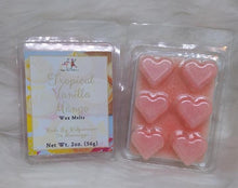 Load image into Gallery viewer, Tropical Vanilla Mango Wax Melts - Three Girls Plus & Leggo My Candle