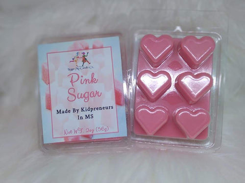 Pink Sugar (Compare to Aquolina) Wax Melts - Three Girls Plus & Leggo My Candle