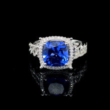 Load image into Gallery viewer, Chain Blue Sapphire Set 14kt